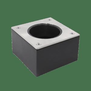 Box 100 RVS 10x10 cm