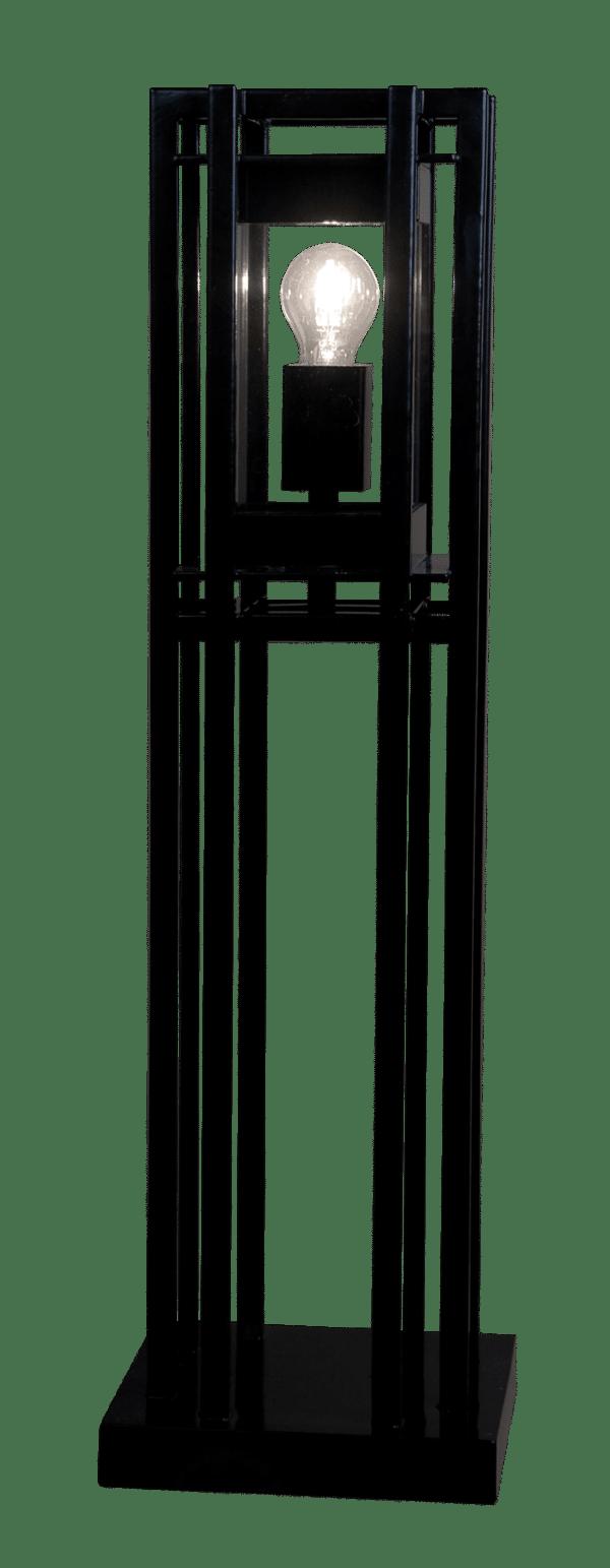 Costa laterna pilar Design by Marcel Wolterinck 230v Zwart
