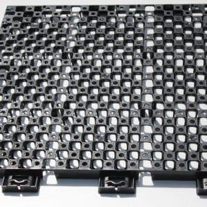 Drainbase 60x60x3 cm Zwart