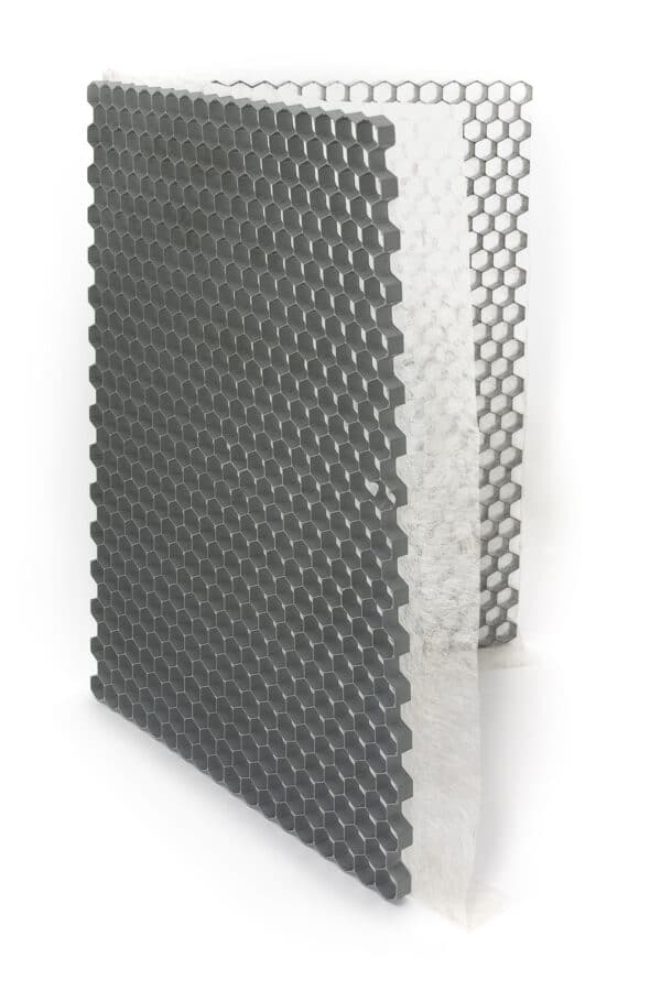 ECCOgravel 120x160x3 cm Grijs