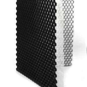 ECCOgravel 120x160x3 cm Zwart