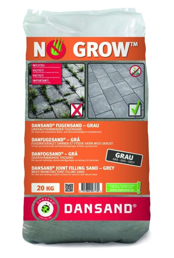 "Fixs Dansand ""No Grow"" 20 kg voegzand Grey"
