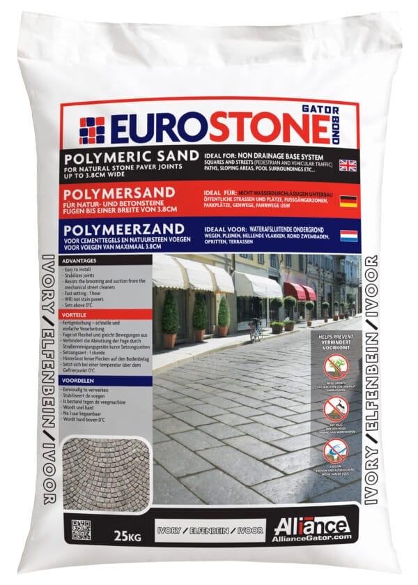 Fixs EuroStone zak 25 kg Ivoor