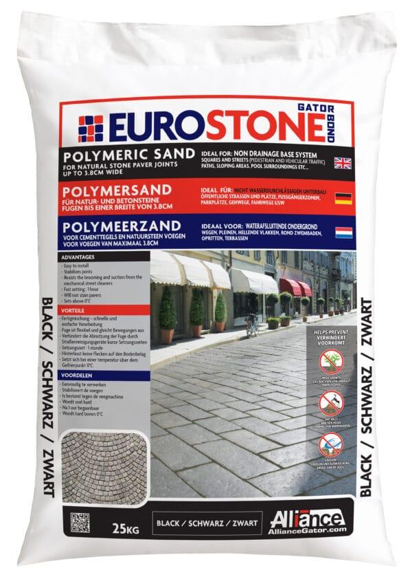 Fixs EuroStone zak 25 kg Zwart