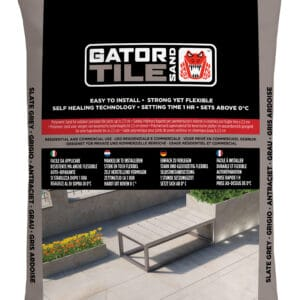 Fixs Gatorsand Tile zak 16 kg Antraciet
