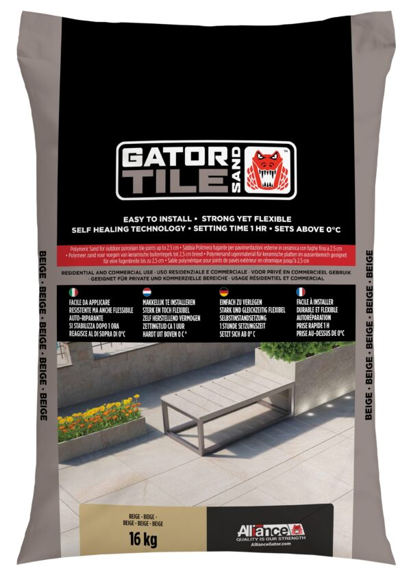 Fixs Gatorsand Tile zak 16 kg Beige
