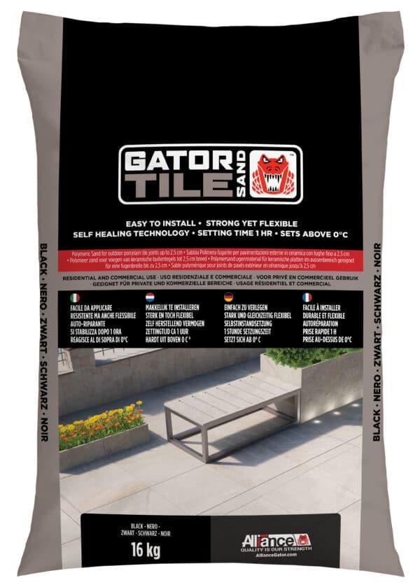 Fixs Gatorsand Tile zak 16 kg Zwart