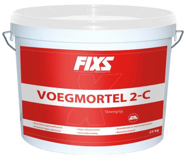 Fixs Voegmortel 2-componenten Steengrijs
