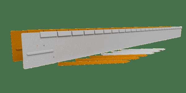 Flexline 15 cm Corten