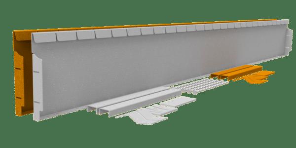 Flexline 24 cm Corten
