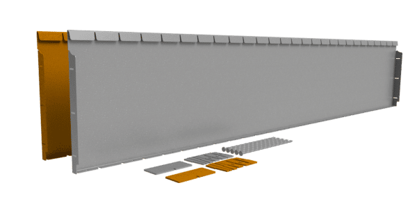 Flexline 40 cm Corten