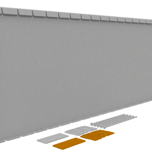 Flexline 56 cm Corten