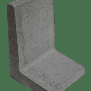 L-element 60x40x40 cm Grijs