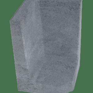L-hoekelement 60x40x40 cm Antraciet