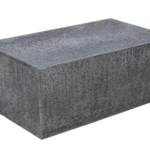 Oudhollandse bank - zitelement 100x60x40 cm Antraciet