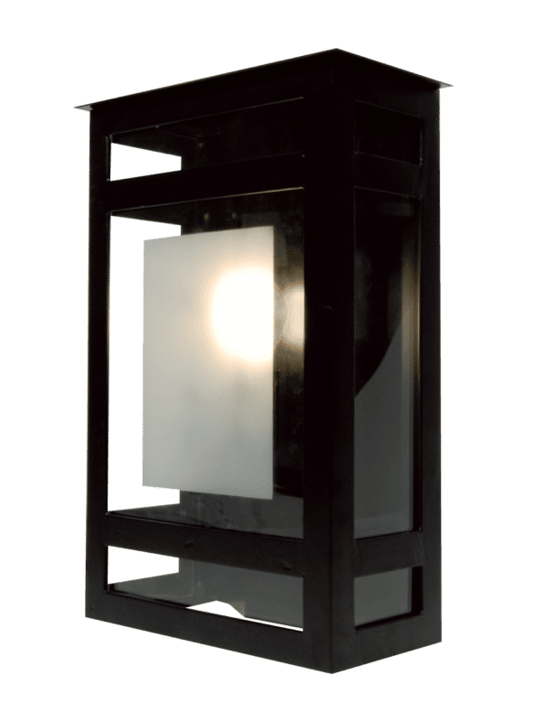 Quatro wall II Zwart - exclusief lichtbron