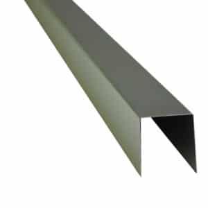 Randbescherming tbv band van 5 cm breed Inox