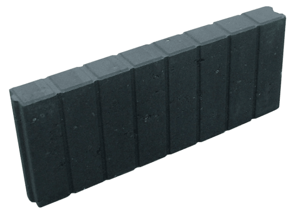 Rectoband 6x20x50 cm Antraciet