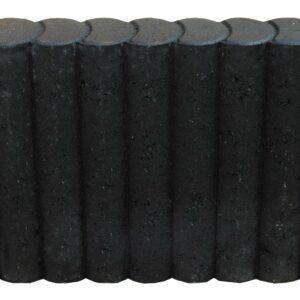 Rondoband Ø8x50x50 cm Antraciet