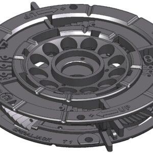 Spirapave T12 18-23 mm Zwart