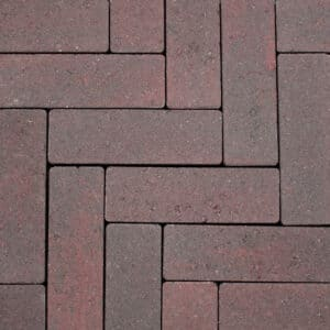 Strackstone+ 21x7x8 cm Wijnrood-havanna