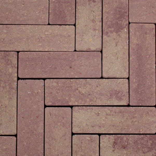 Strackstone+ 21x7x8 cm Wijnrood-oker