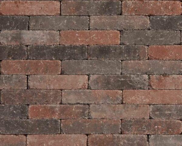 Tambour 20x5x7 cm Rood-zwart
