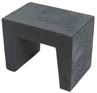 U-element 50x40x40 cm Antraciet