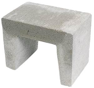 U-element 50x40x40 cm Grijs