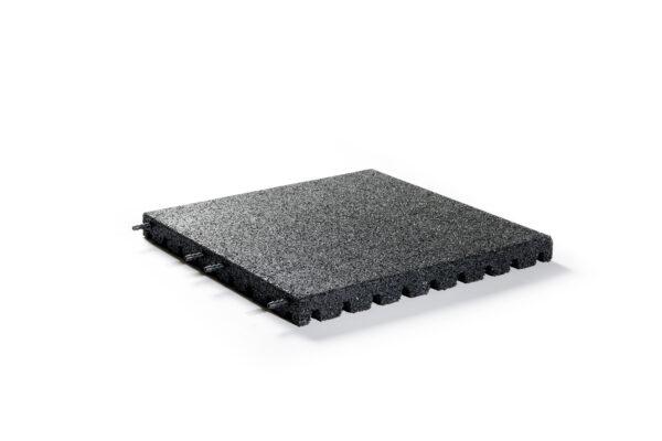 Veiligheidstegel 50x50x4 cm Zwart